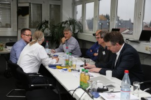 Round Table zum Thema Marketing.