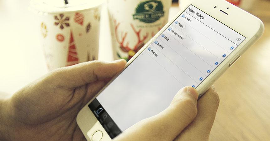 Standortübergreifend arbeiten, von überall auf Ihr DMS zugreifen - das ist mobiles Dokumentenmanagement mit agorum.