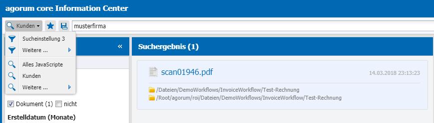 IC Suchvorlagen