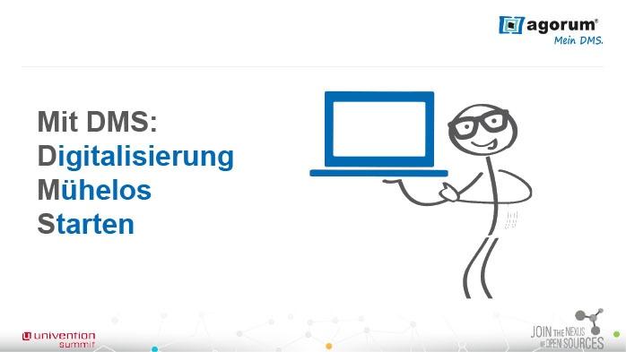 Mit DMS: Digitalisierung Mühelos Starten