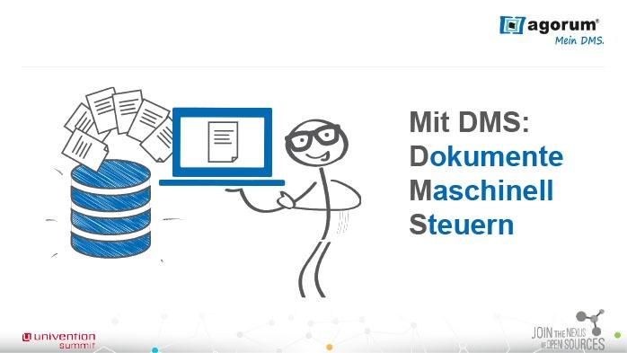 Mit DMS: Dokumente Maschinell Steuern