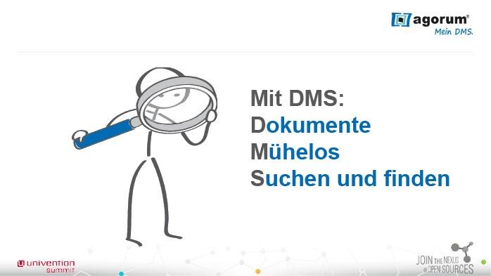 Mit DMS: Dokumente Mühelos Suchen und finden