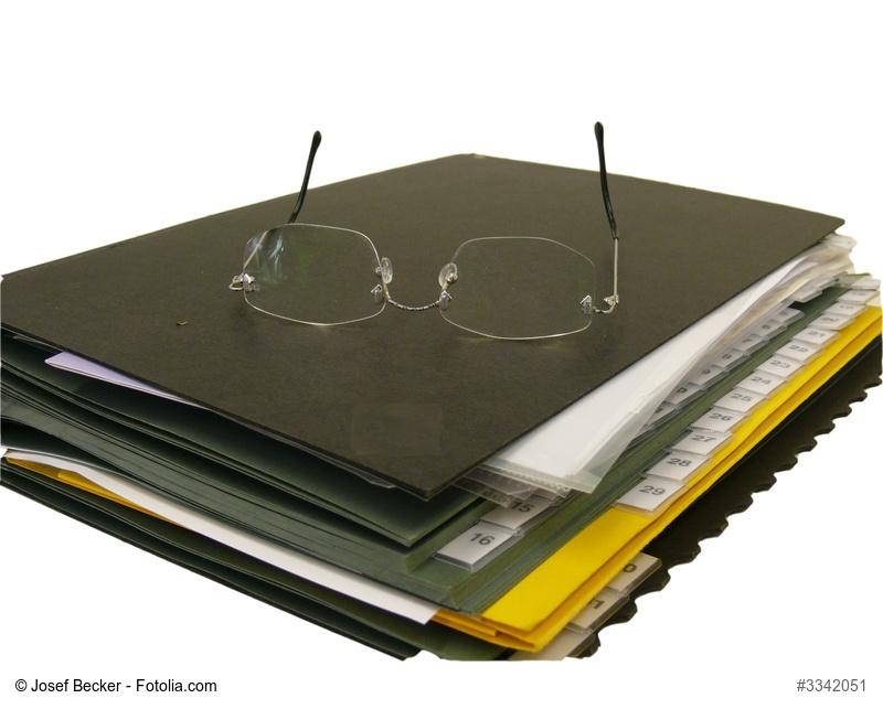 Mit der elektronischen Wiedervorlage von agorum core ist die Wiedervorlagemappe überflüssig.
