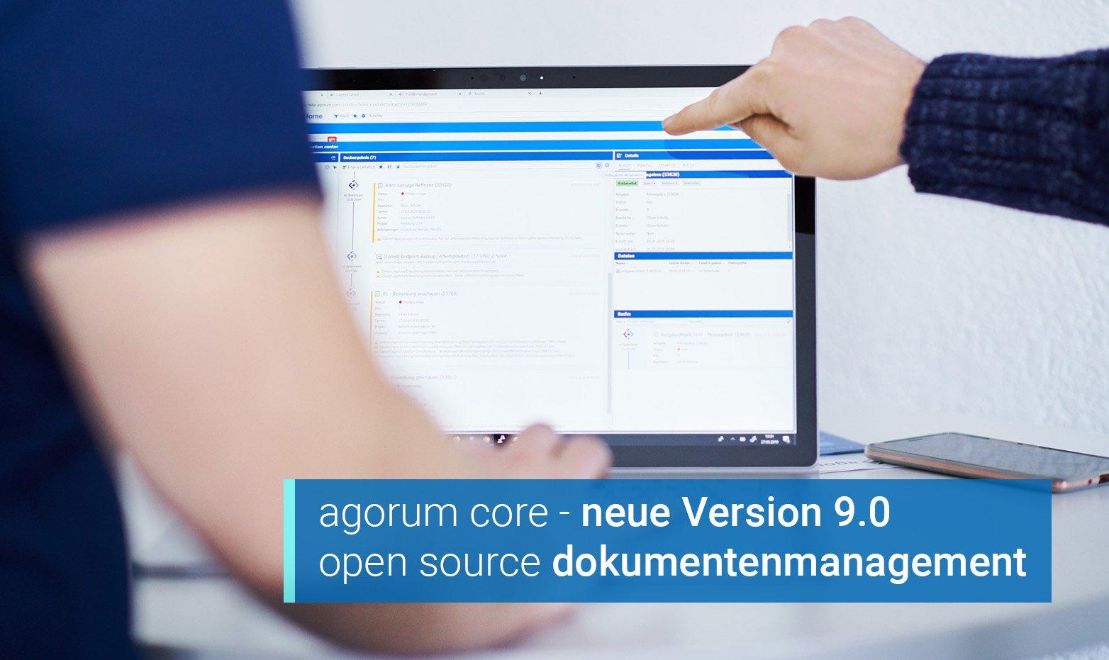 agorum core 9.0 - open source dokumentenmanagement