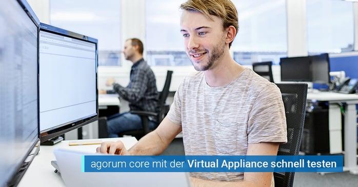 agorum core Virtual Appliance testen