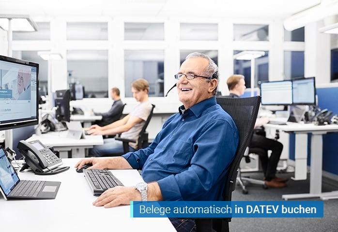 Belege mit Beleglink Uebergabe DATEV mit agorum core DMS