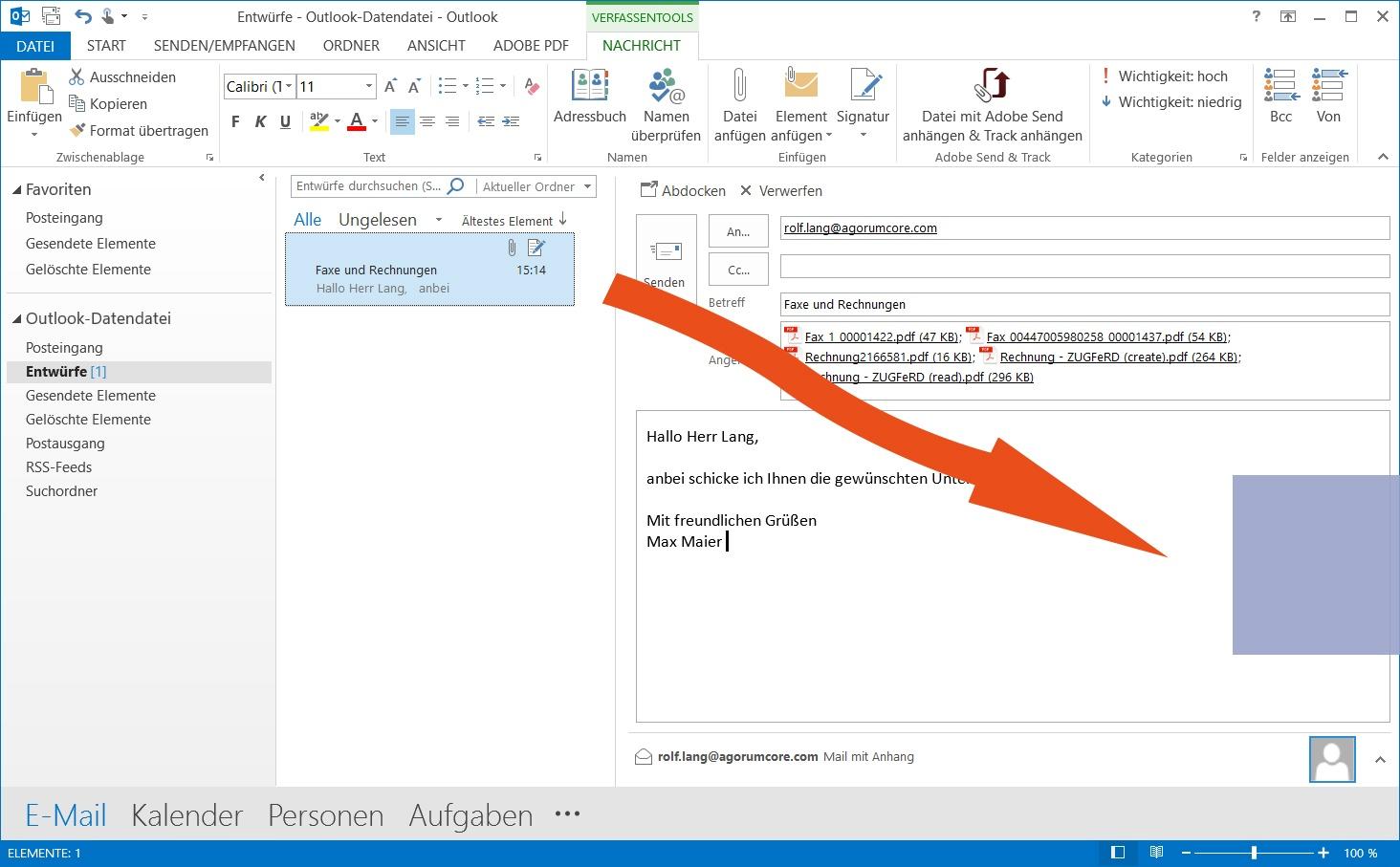 Schön Coole Outlook Signaturvorlagen Fotos - Entry Level Resume ...