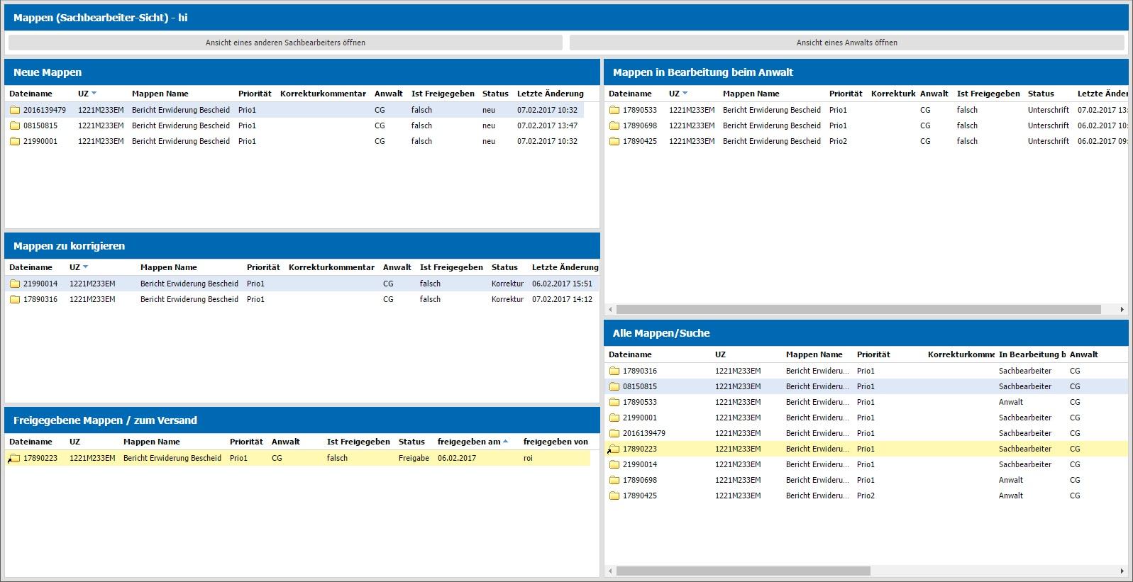 Digitale Unterschriftenmappe - mit agorum® core alle Vorgänge im Überblick