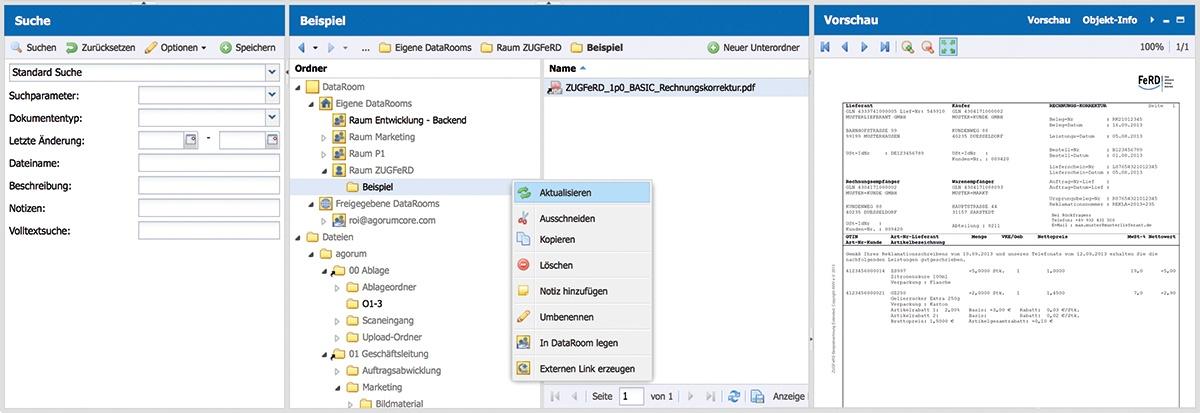 agorum_dataroom-Filesharing
